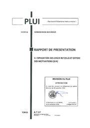 thumbnail of Rapport de Presentation P3